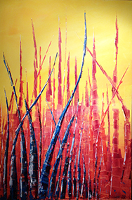 Magic forest – 80x120 cm